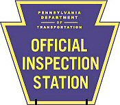 Tamaqua, Panther Valley, Carbon County, State Auto Inspection Station, Erbe Tire and Auto, 321 W. Water St. Coaldale, PA.